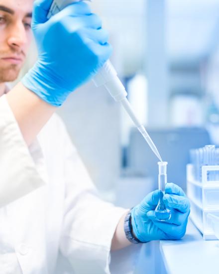 Secteurs d'activités de CADEV : chimie, pharmacie
