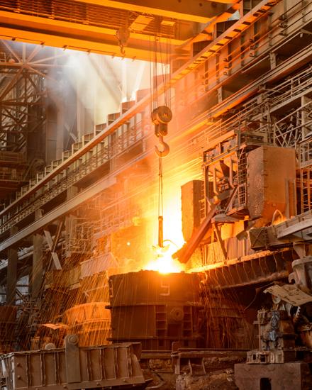 Secteurs d'activités de CADEV : Industries lourdes